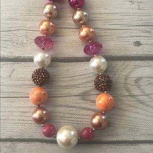Other - Little girls bubble gum bead necklace